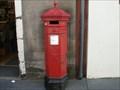 Image for Hexagon Post Box - Canongate Road,  Edinburgh, Scotland