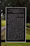 Image for Gettysburg Address - Vicksburg National Cemetery - Vicksburg, MS