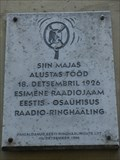 Image for FIRST Radio Station in Estonia - Tallinn, Estonia