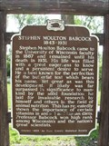 Image for Stephen Moulton Babcock 1843-1931 Historical Marker