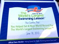 Image for World's Largest Swimming Lesson - Santa Clarita, CA