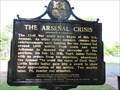 Image for Arsenal Crisis - Little Rock, Arkansas