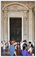 Image for The Center (Filarete) Door, St. Peter's Basilica, Vatican City