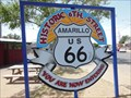 Image for Get Your Kicks on Route 66 - Nat King Cole - Amarillo Texas, USA.