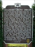 Image for Soldiers Grove Origin Historical Marker