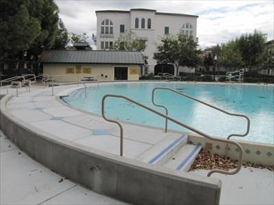 Ryland Pool, looking South, San Jose, CA