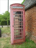 Image for A Faded Red Telephone box  Barham, Cambs