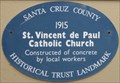 Image for St. Vincent de Paul Catholic Church - Davenport, California