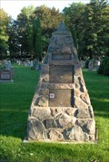 Image for Legion Cairn at Greenwood Cemetery