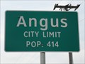 Image for Angus, TX - Population 414