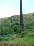 Image for The chimney of Woodhouse Mill - Todmorden, UK