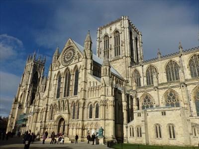 Lord Abercrombie visited York Minster - York, UK