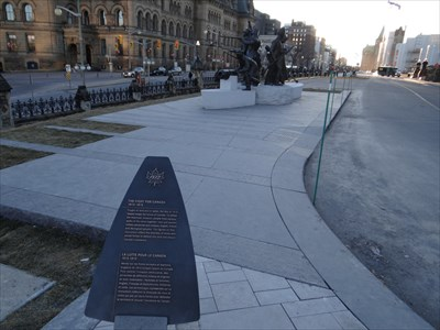 overview with plaque