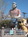 Image for Paul Bunyan in the yard of Don Parks - Phoenix, AZ