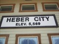 Image for Heber City Utah  Elev 5,569