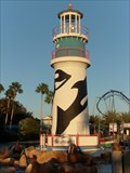 Image for Landlocked Lighthouse - Sea World - Florida, USA.
