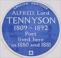 Image for Alfred, Lord Tennyson - Wilton Street, London, UK