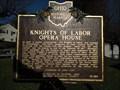 Image for Knights of Labor opera house Shawnee Ohio historical marker #13-64