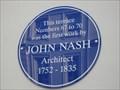 Image for John Nash  -  London, England, UK