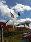 Image for Nautical Flag Pole at the Port - Birsfelden, BL, Switzerland