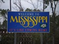 Image for Mississippi Welcome Sign