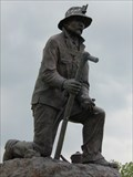 Image for Historic Route 66 - Kneeling Miner - Webb City, Missouri, USA.