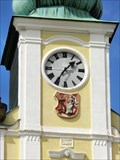 Image for Town Hall Clock - Rychnov nad Kneznou, Czech Republic