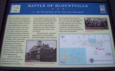 This Civil War Trail marker is located in front of the Court House.