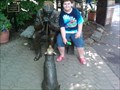 Image for Man and Dog at Erie Zoo - Erie, PA