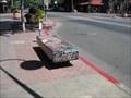 Image for Chinese Luminary Art Bench - Chico, CA