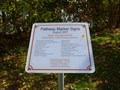 Image for Pathway Marker Signs - Agawam, MA