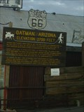 Image for Oatman Arizona