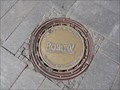Image for 'Positiv' Manhole Cover Marktplatz Reutlingen, Germany, BW