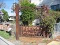 Image for Poetry Garden Gate - Berkeley, CA
