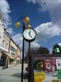 Image for Clock on Masaryk Square - Roznov pod Radhostem, Czech Republic