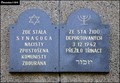 Image for Holocaust memorial tablet at the site of former Synagogue (Litomyšl, East Bohemia)