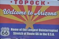 Image for Welcome to Arizona ~ Home of the Longest Uninterrupted Stretch of Route 66 in the U.S.A.