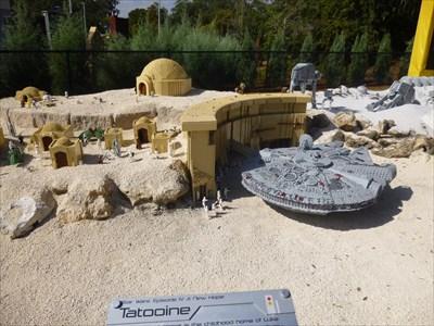 Lord Abercrombie visited Tatooine - Star Wars - Legoland Florida. USA.