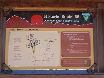 Historic Route 66 - Back Country Byway