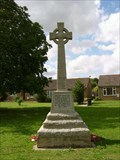 Image for Combined War Memorial - Bluntisham-cum-Earith, Cambridgeshire, UK