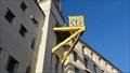 Image for Golden clock On Side Of Civic Hall – Leeds, UK