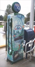 Image for McKnightstown Post Office Gasoline Pump