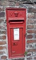 Image for Post Box, Bridge, Tre'r Ddol, Ceredigion, Wales, UK