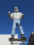 Image for Kevin, the Muffler Man - Van Nuys, CA