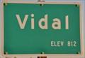 Image for Vidal, California - Elevation 812