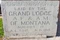 Image for 1915 - Masonic Lodge #64 - Whitefish, MT
