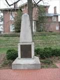 Image for Thomas Jefferson Original Grave Stone - University of Missouri - Columbia, Missouri
