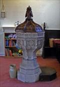 Image for Font, Holy Trinity Church, Elsecar, Barnsley, South Yorkshire, UK