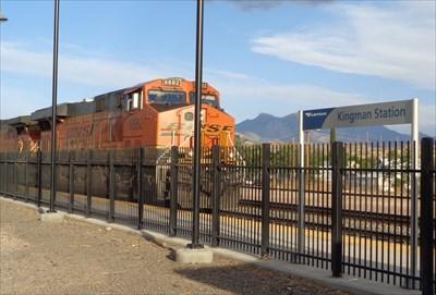 Kingman Santa Fe Depot - Railroad Museum