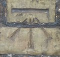 Image for Cut Mark - Cemetery Wall, Priory Road, Huntingdon, Cambridgeshire.